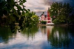 La casa del estanque